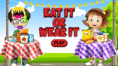 Eat It Or Wear It Challenge! A Food Challenge Game screenshot one