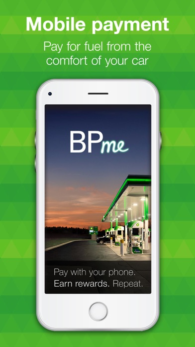 Screenshot for BPme: Pay for Fuel in Your Car in United States App Store