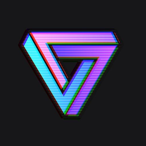 VaporCam蒸汽波相机 -复古滤镜彩虹贴纸