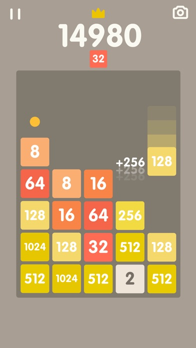 2048 Bricks Screenshot 2