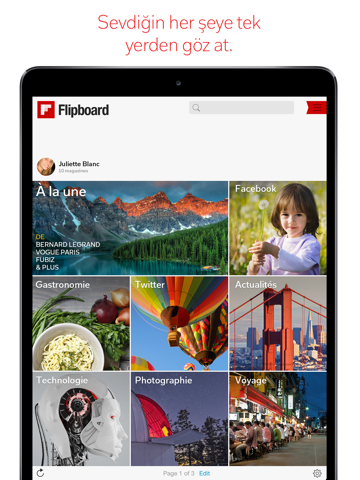 Flipboard: News for our time screenshot 1