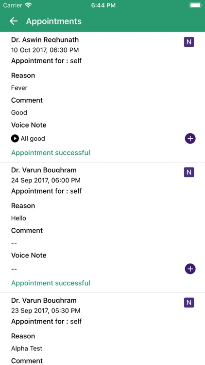 NokDok - For Polyclinic screenshot-4