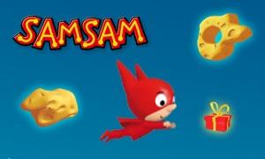 SamSam Cosmic Slalom
