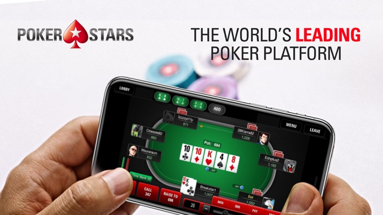 PokerStars Online Poker Games screenshot-0