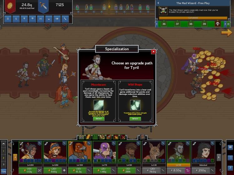 Idle Champions screenshot-3