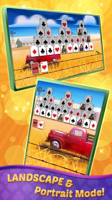 TriPeaks Solitaire with Themes screenshot 3