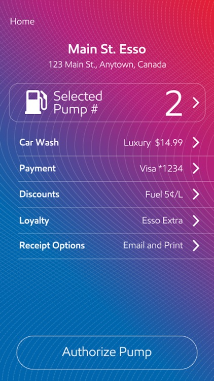 Esso Speedpass+ screenshot-2