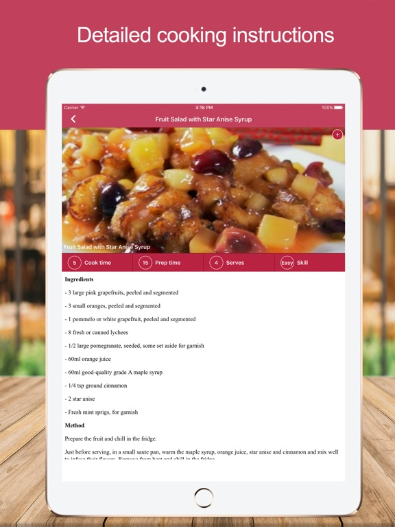 Healthy food recipes uk app price drops screenshot 4 for healthy food recipes uk forumfinder Images