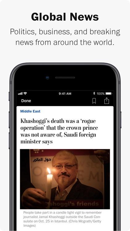 The Washington Post Classic screenshot-6