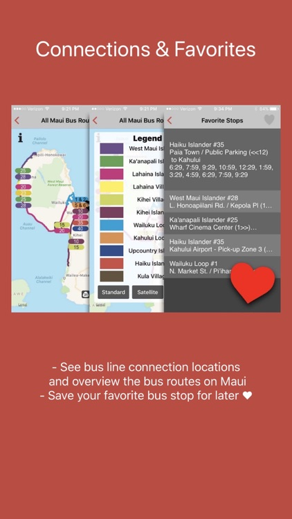 Maui Bus Routes screenshot-4