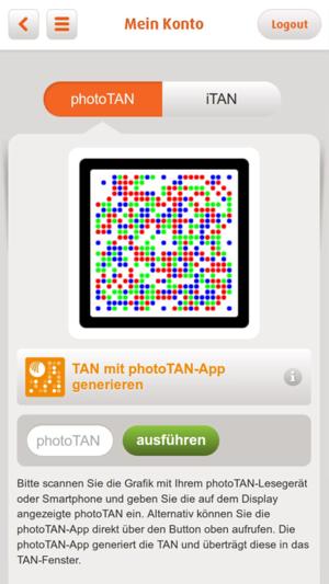 norisbank phototan app