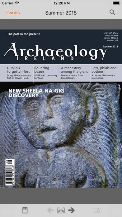Archaeology Ireland screenshot 1