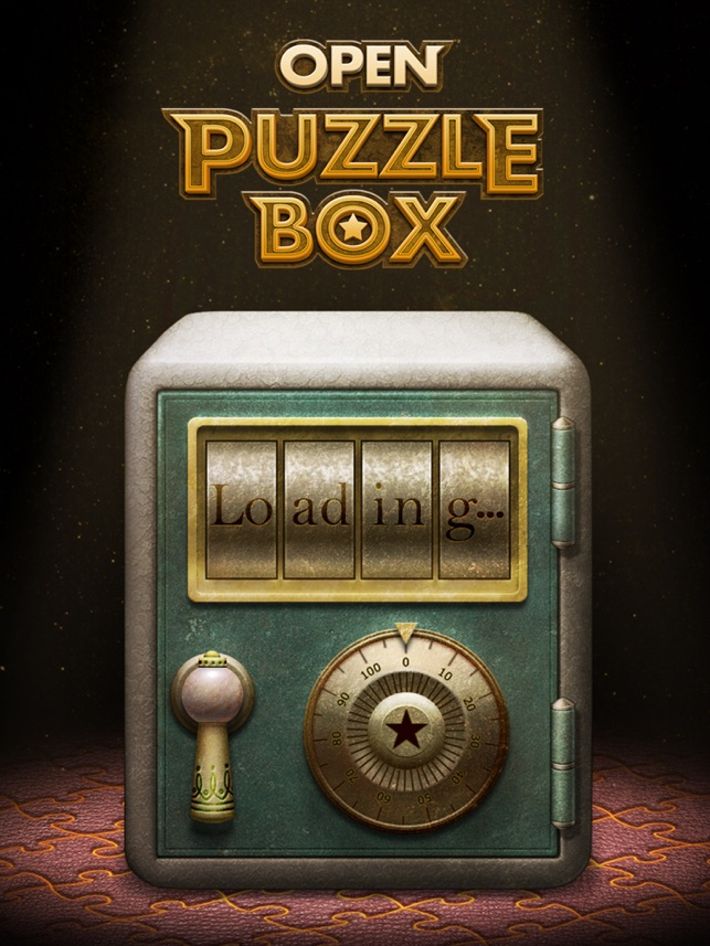 Open Puzzle Box On The App Store