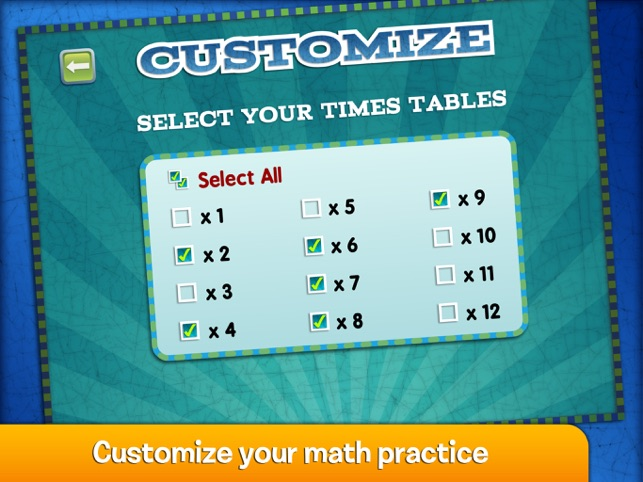 ‎Marble Math Multiplication Screenshot
