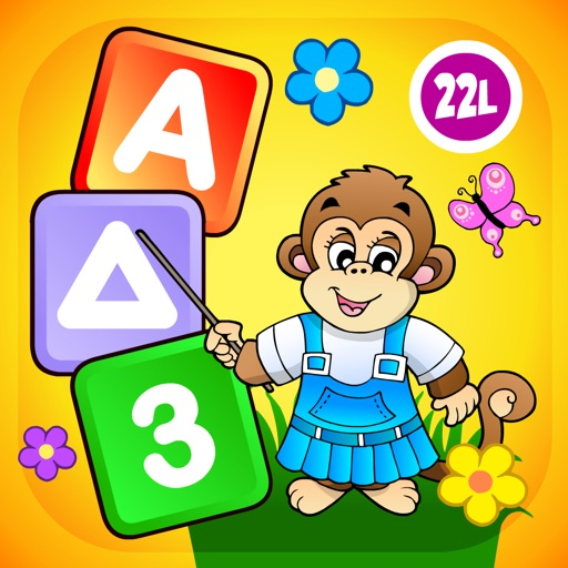 Baby learning: Toddler games for 1 2 3 4 year olds icon