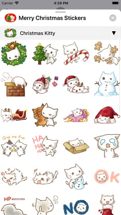 Merry Christmas Sticker Packs screenshot-3