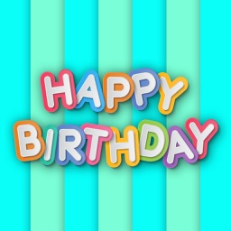 Birthday Party Wishes Stickers