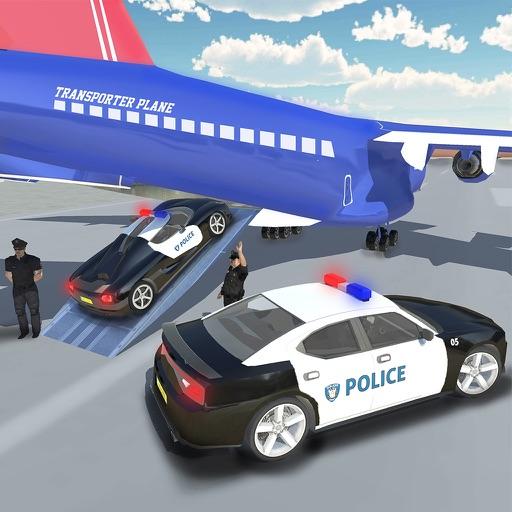 Police Plane Transport 2017 iOS App