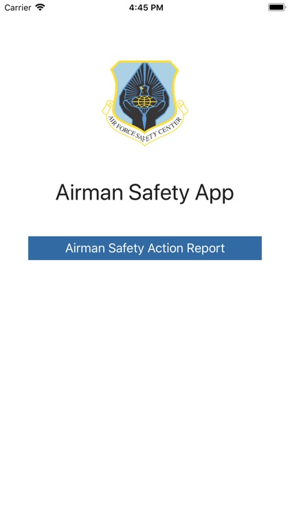 Airman Safety App