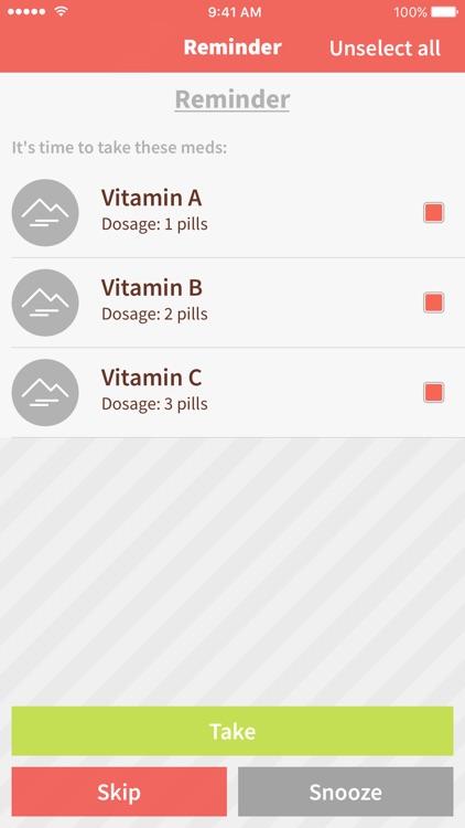 Meds Tracker: Daily Reminder
