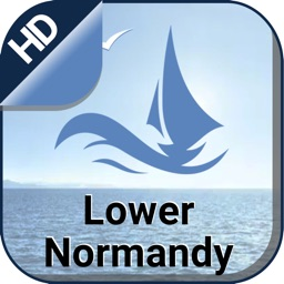 Lower Normandy Nautical offline chart for cruising