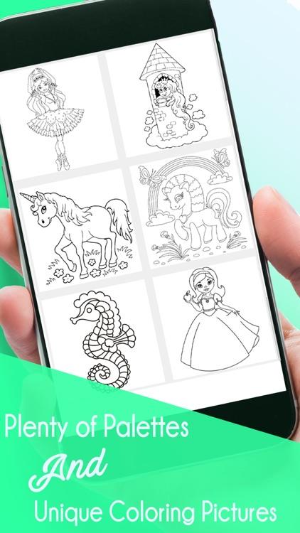 Coloring Book&Games: Colorful screenshot-5