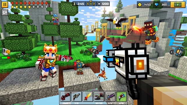 Pixel Gun D Battle Royale On The App Store - Minecraft kostenlos spielen ohne download 3d