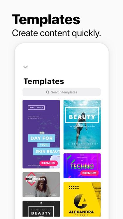 InstaSize:Pic & Collage Editor screenshot-4
