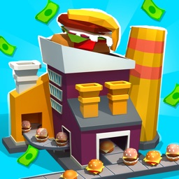 Burger & Pizza Factory Tycoon