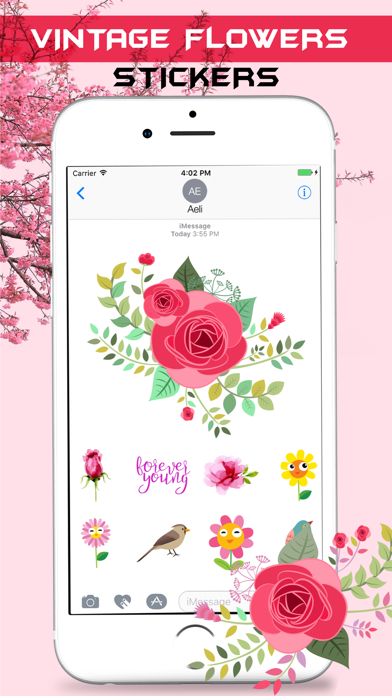 Vintage Watercolor Stickers Pack screenshot two
