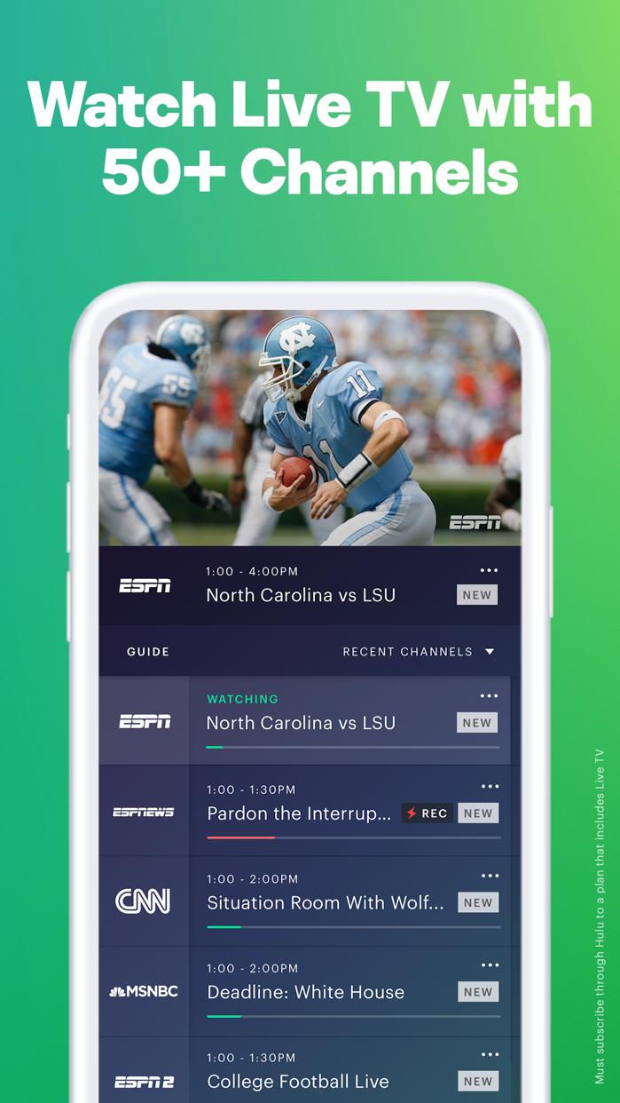 Hulu: Watch TV Shows & Movies Screenshot
