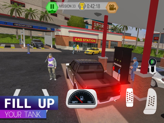 Car Caramba: Driving Simulator для iPad