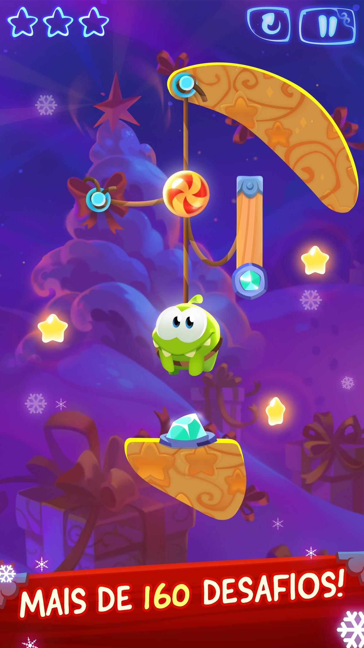 Screenshot do app Cut the Rope: Magic GOLD