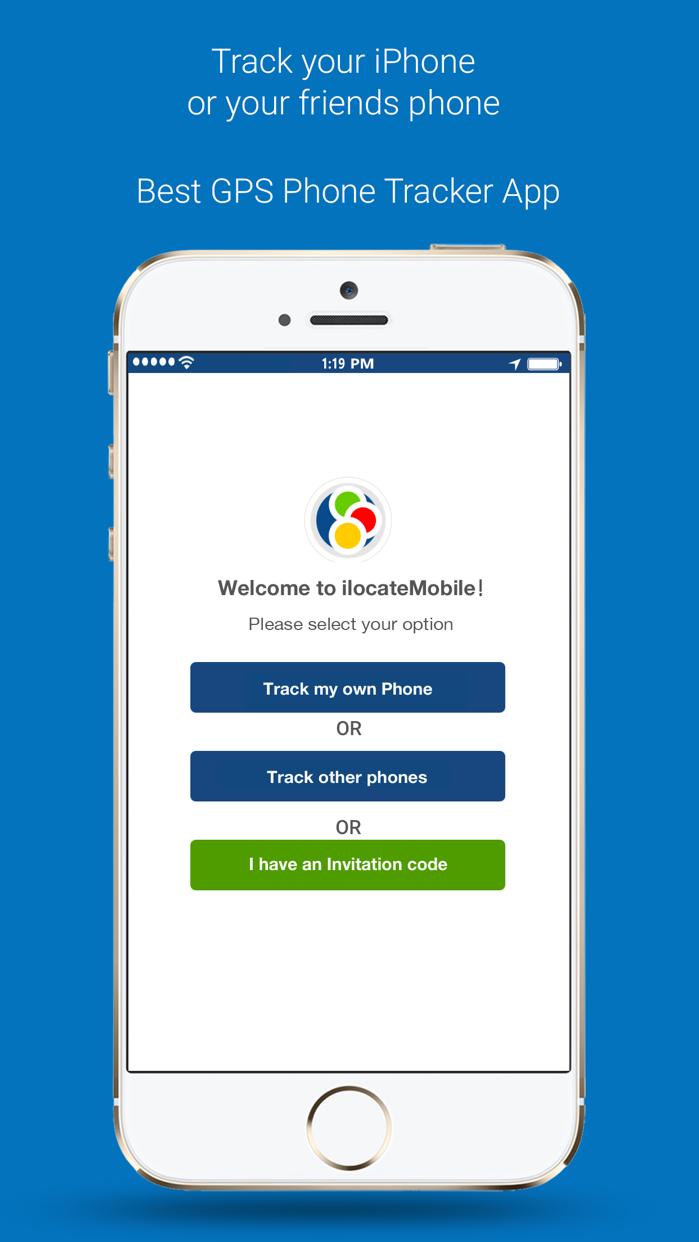 Track Any Phone - iLocateMoble Screenshot