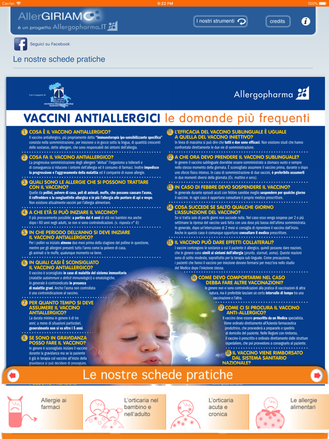 AllerGIRIAMO Screenshot