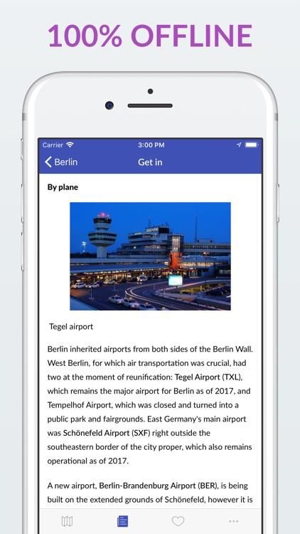 Berlin Offline Map & Guide screenshot-4