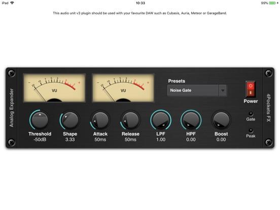 Audio Expander AUv3 Plugin screenshot 3