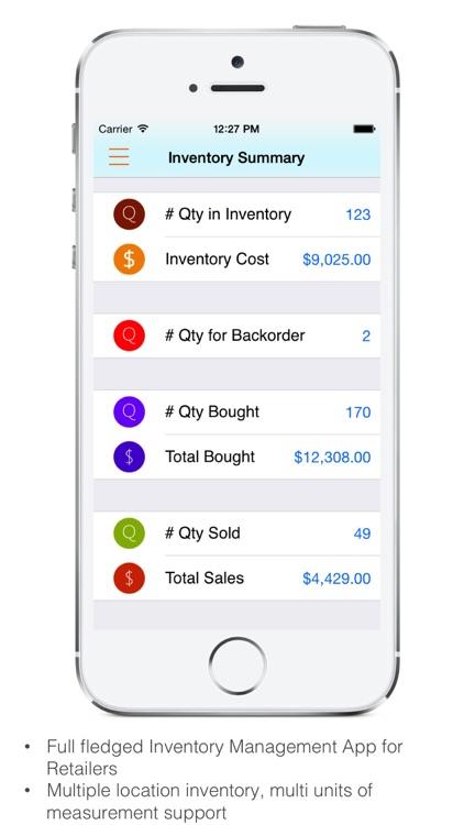 Goods Inventory Pro Retailer