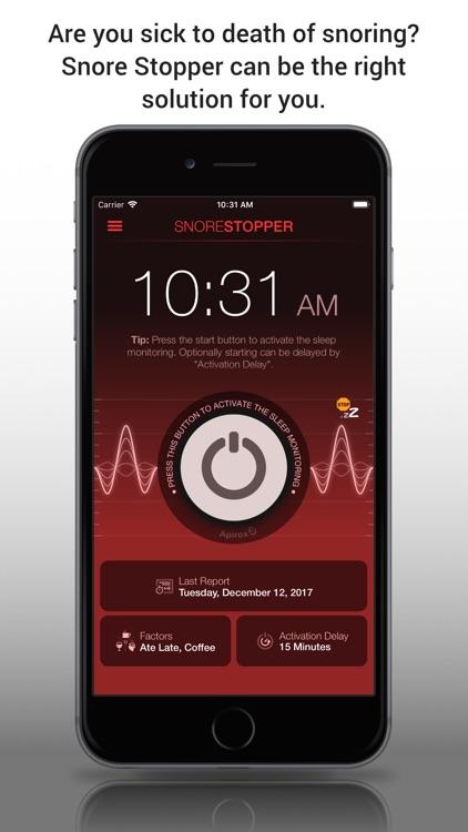 Snore Stopper! Lite screenshot-3