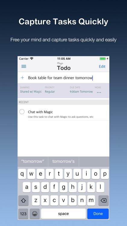 Magic Todo List
