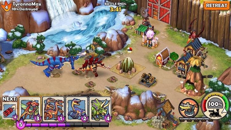 * Dino Wars * screenshot-0