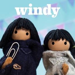 Snowy & Chinook's Birthday Invite-Windy & Friends