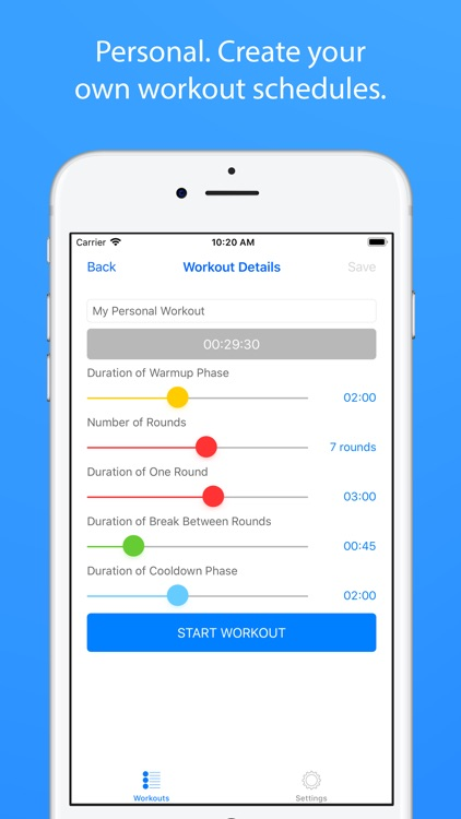 Boxing Coach and Workout Timer screenshot-3