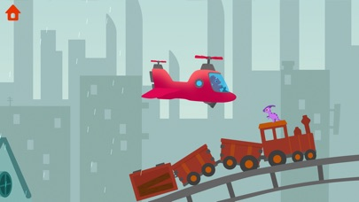 Dinosaur Helicopter for Windows
