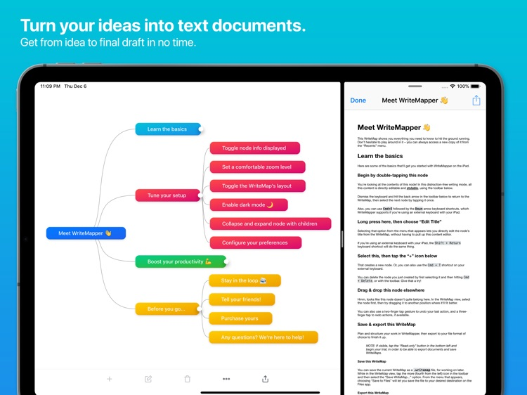 WriteMapper 2: Mind Map (iPad)