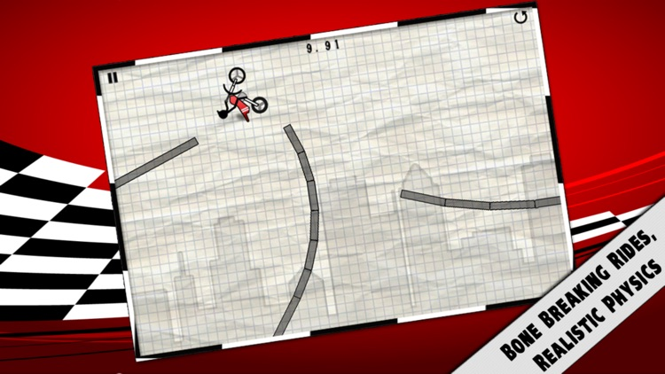 Stick Stunt Biker screenshot-0