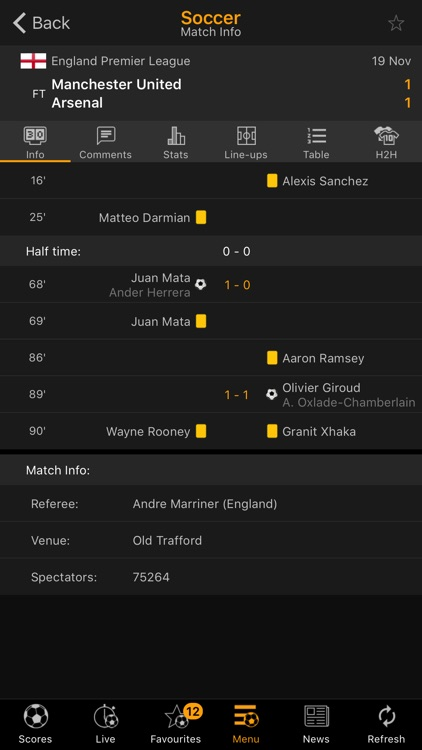 LiveScore screenshot-1