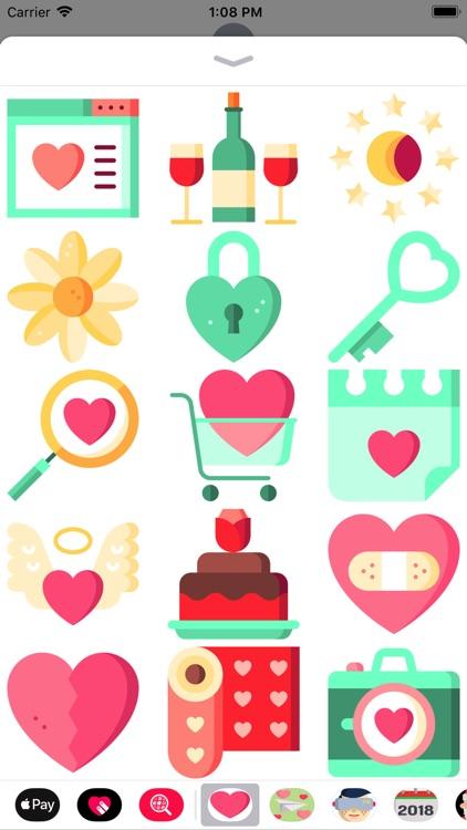 Be My Valentine Sticker Pack screenshot-4