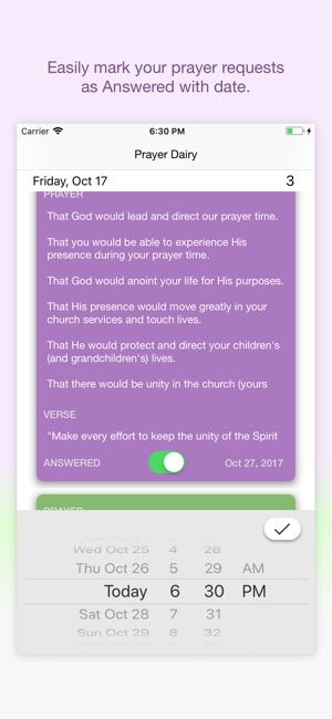 ‎PrayerDiary - Pocket Edition on the App Store