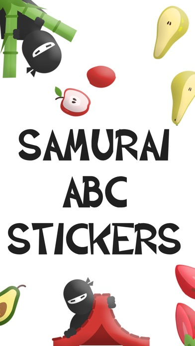 Samurai Animated Text Stickers review screenshots